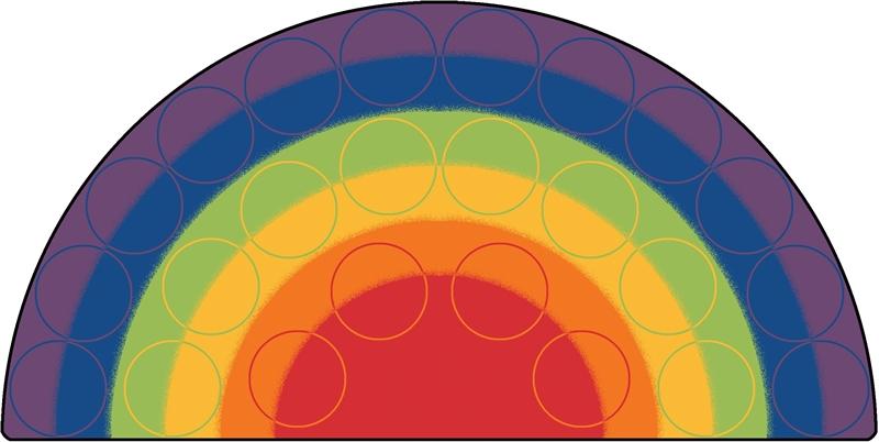 Rainbow Rows Rug Cfk12xx Carpets For Kids