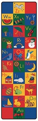 ABC Phonic Runners - Vertical - 3' x 10' - CFK133 - Carpets for Kids