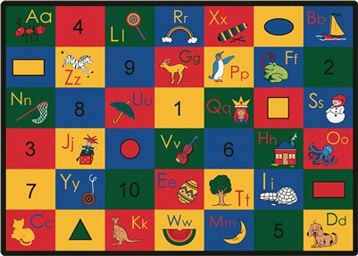 Blocks of Fun Rug - CFK13XX - Carpets for Kids