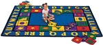 Bilingual Rug - CFK16XX - Carpets for Kids