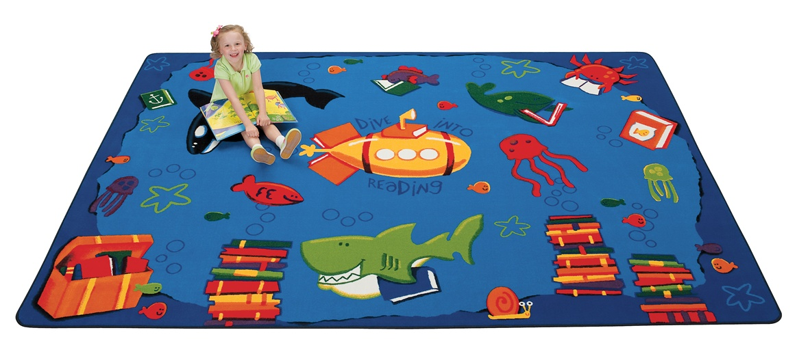 Dive Into Reading Rug Cfk33xx Carpets For Kids