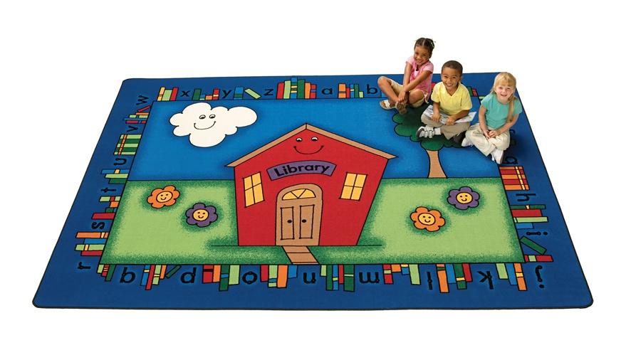 Happy Reading Rug Cfk37xx Carpets For Kids