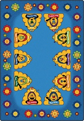 Busy Bee ABC Learning Rug - CFK43XX - Carpets for Kids