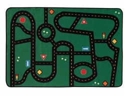 Go-Go Driving Rug - Rectangle - 4' x 6' - CFK4822 - Carpets for Kids