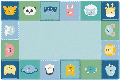 Symbol Sets Seating Rug - CFK58XX - Carpets for Kids