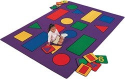 Shapes Rug - CFK5XX - Carpets for Kids