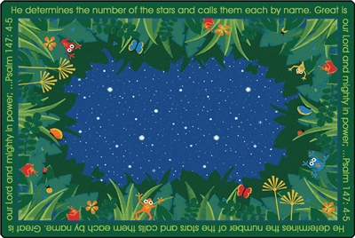 He Numbers the Stars Rug - CFK7651XX - Carpets for Kids