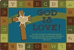 God is Love Learning Rug - Nature - CFK837XX - Carpets for Kids
