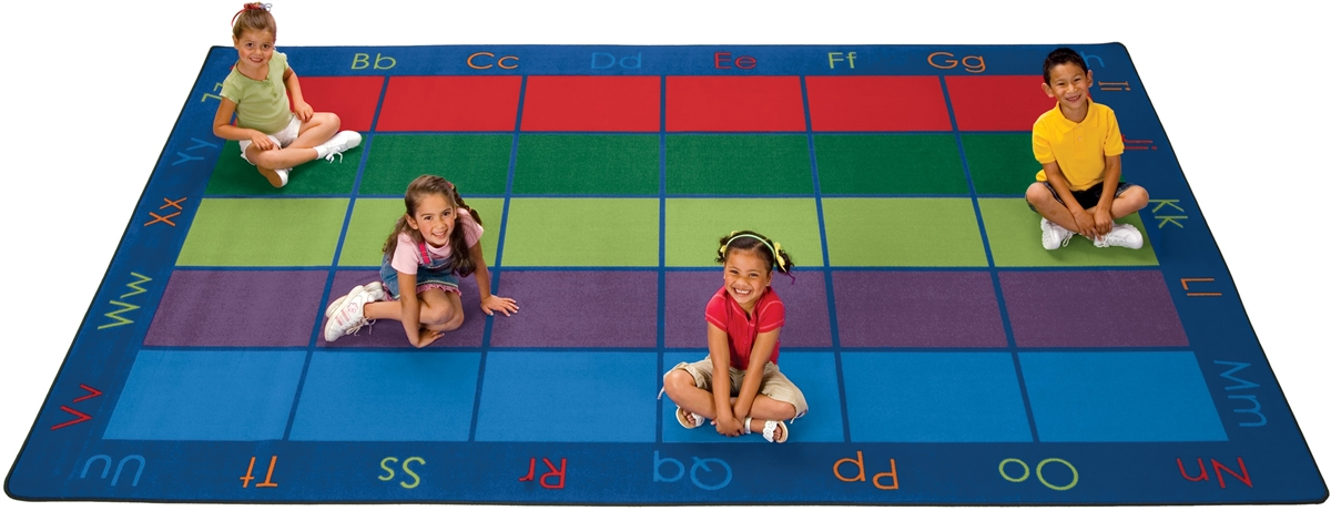 Colorful Places Seating Rug | CFK86XX | Carpets for Kids