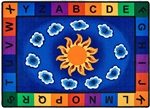 Sunny Day Learn & Play Classroom Rug - CFK94XX - Carpets for Kids