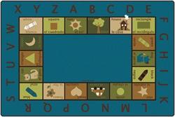 Bilingual Circletime Rug Nature Cfk957xx Carpets For Kids