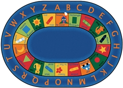 Bilingual Circletime Rug - CFK95XX - Carpets for Kids