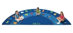 Fun with Phonics Rug - Semi-Circle - 5'10