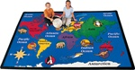 "World Explorer Rug Factory Second - Rectangle - 8'4"" x 11'8"" - CFKFS1512 - Carpets for Kids"