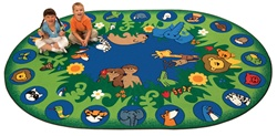 Circletime Garden of Eden Rug Factory Second - Oval - 6'9