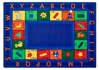 Bilingual Circletime Rug Factory Second - Rectangle - 8'4