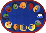 Joyful Faces Rug - JC1406XX - Joy Carpets