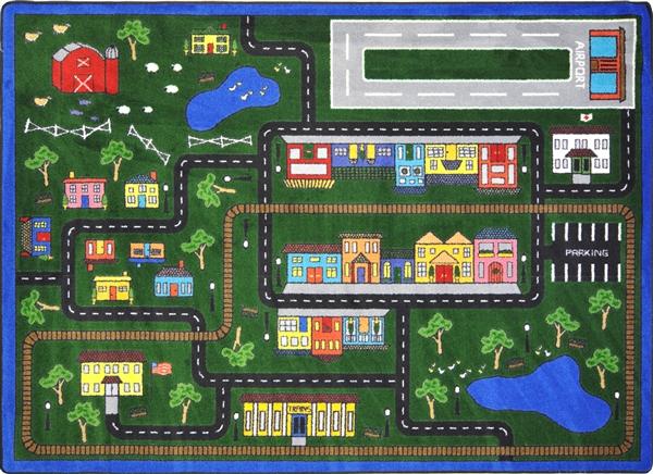 Tiny Town Kids Play Rug Jc1414xx Joy Carpets