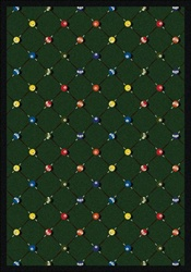 "Billiards Wall-to-Wall Carpet - Green - 13'6"" - JC1421W01 - Joy Carpets"