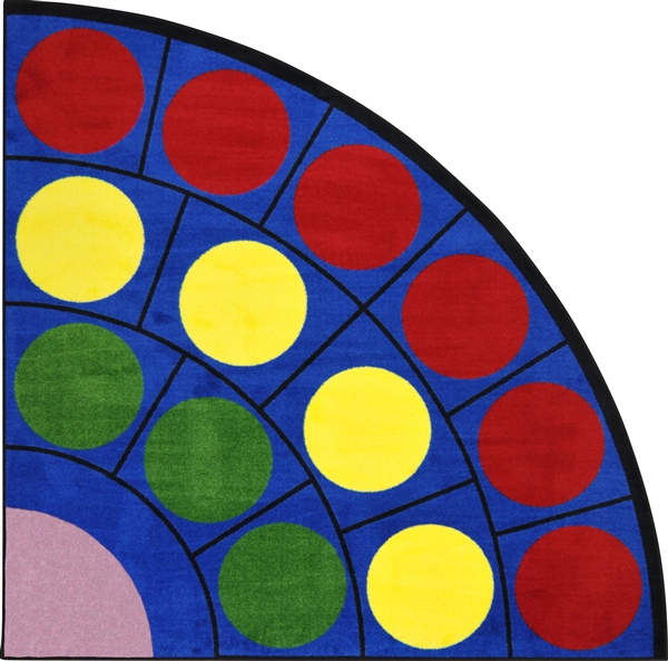 Educational Rugs Cheap: Lots Of Dots Classroom Rug