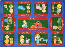 Signs on the Farm Rug - JC1432XX - Joy Carpets