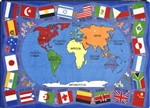Flags of the World Rug - JC1444XX - Joy Carpets