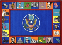 Symbols of America Rug - JC1450XX - Joy Carpets