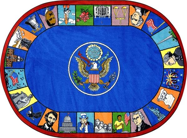 Symbols Of America Rug Jc1450xx Joy Carpets