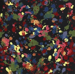 "Splatter Paint Wall-to-Wall Carpet - 13'6"" - JC1503W - Joy Carpets"