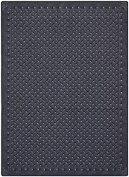 "Diamond Plate Rug - Steel Blue - Rectangle - 5'4"" x 7'8"" - JC1504C02 - Joy Carpets"