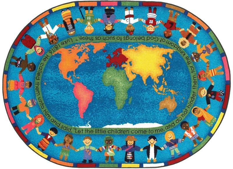 Let The Children Come Rug Jc1513xx Joy Carpets