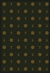"Mariner's Tale Wall-to-Wall Carpet - Emerald - 13'6"" - JC1515W03 - Joy Carpets"