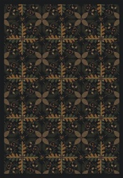 "Tahoe Rug - Black - Rectangle - 5'4"" x 7'8"" - JC1516C01 - Joy Carpets"