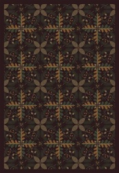 "Tahoe Rug - Burgundy - Rectangle - 7'8"" x 10'9"" - JC1516D03 - Joy Carpets"