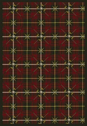 "Saint Andrews Rug - Tartan Green - Rectangle - 3'10"" x 5'4"" - JC1524B06 - Joy Carpets"