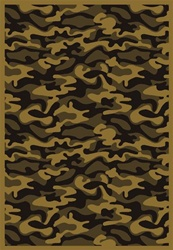 "Funky Camo Wall-to-Wall Carpet - Desert - 13'6"" - JC1526W05 - Joy Carpets"