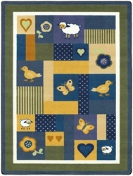 "Baby Love Rug - Bold - Rectangle - 7'8"" x 10'9"" - JC1532D01 - Joy Carpets"