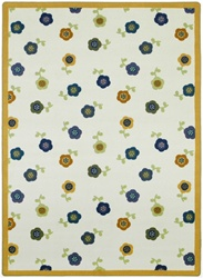 "Awesome Blossom Rug - Soft - Rectangle - 5'4"" x 7'8"" - JC1536C02 - Joy Carpets"