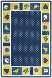 "Seeing Spots Rug - Soft - Oval - 7'8"" x 10'9"" - JC1538DD02 - Joy Carpets"