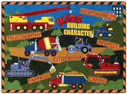 Kid's Building Character Rug - JC1551XX - Joy Carpets