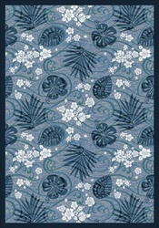 "Trade Winds Wall-to-Wall Carpet - Indigo - 13'6"" - JC1576W01 - Joy Carpets"