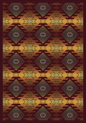 "Canyon Ridge Rug - Mesa Sunset - Rectangle - 3'10"" x 5'4"" - JC1577B02 - Joy Carpets"