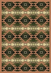 "Canyon Ridge Rug - Cactus - Rectangle - 3'10"" x 5'4"" - JC1577B03 - Joy Carpets"