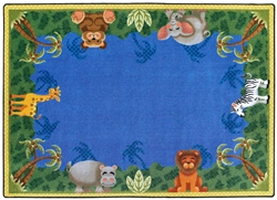 Jungle Friends Rug - JC1579XX - Joy Carpets