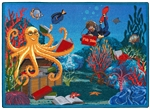 Fish Tales Rug - JC1587XX - Joy Carpets