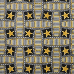 "Marquee Star Rug - Charcoal - Rectangle - 7'8"" x 10'9"" - JC1663D01 - Joy Carpets"