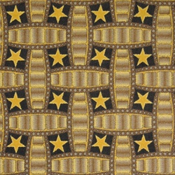 "Marquee Star Rug - Chocolate - Rectangle - 7'8"" x 10'9"" - JC1663D02 - Joy Carpets"