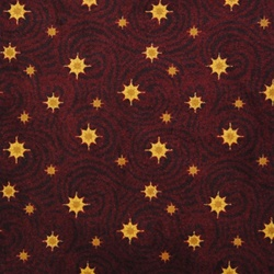 "Milky Way Rug - Burgundy - Rectangle - 7'8"" x 10'9"" - JC1668D03 - Joy Carpets"
