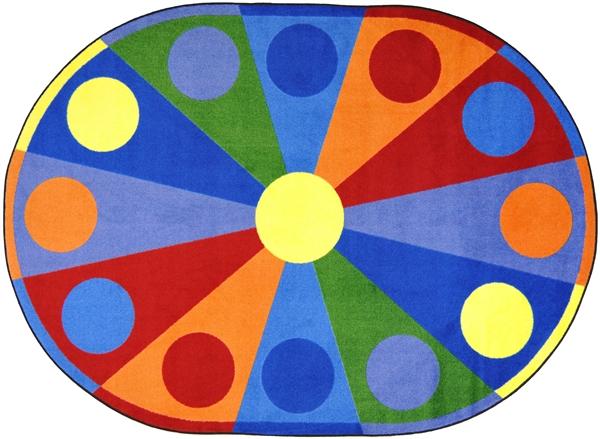 Color Wheel Rug Jc1676xx Joy Carpets