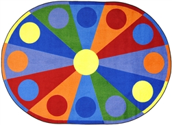 Color Wheel Rug - JC1676XX - Joy Carpets
